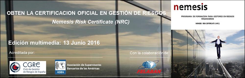 Curso para Certificación en Gestión de Riesgos – XVII Edición