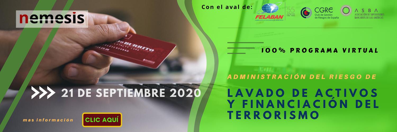 Certificación en administración del riesgo de lavado de activos y financiamiento del terrorismo (LA/FT)
